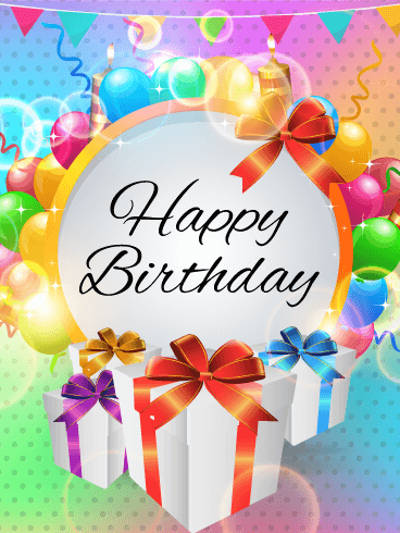 Fabulous Happy Birthday Party Card Birthday Amp Greeting