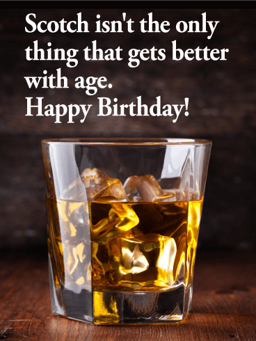 Scotch Prove Funny Birthday Card Birthday & Greeting