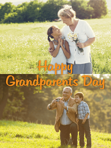 Fun Day! Grandparents Day Card Birthday & Greeting Cards