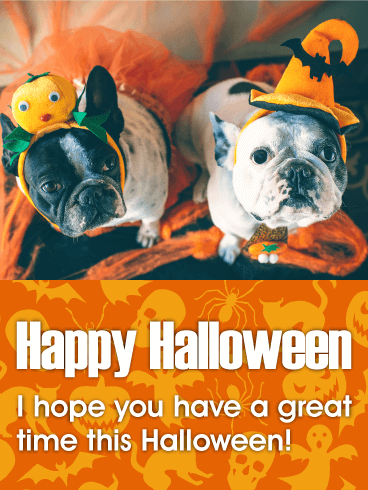 Have A Great Time! Happy Halloween Card Birthday
