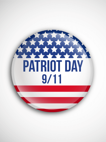 Remembering The Day Patriot Day Card Birthday