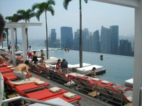 "Bild ""Weltklasse Pool"" zu Marina Bay Sands Hotel Casino in ..."