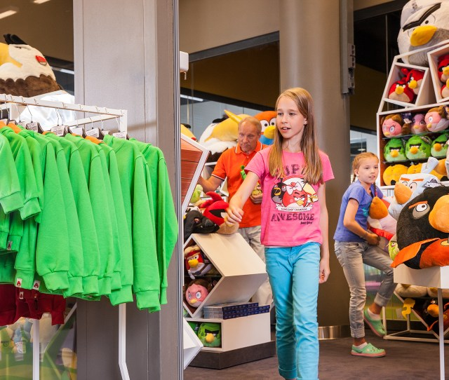 Find Your Souvenirs And Presents At The Angry Birds Activity Parks Own Angry Birds Shop