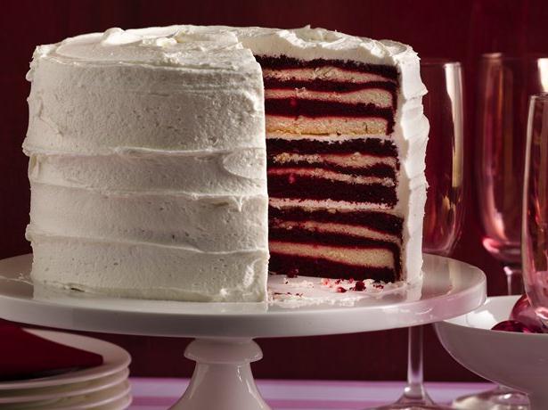 Cake Recipes Impressive: 18 Layer Red Velvet Cake