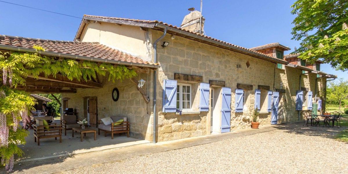 Holiday Villa Sw France Private Pool Air Con Near Bergerac