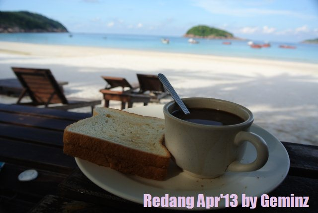 Redang Pelangi Resort tea break
