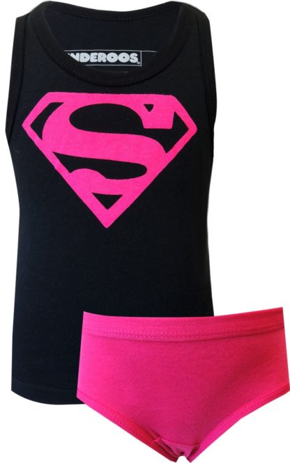 underoos girls supergirl superman