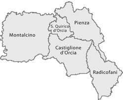 Holidays in Val dOrcia  Val dOrcia  Art Nature and