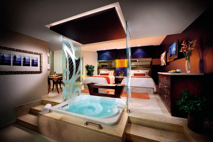 The Ultimate Upgrade  Top Hotels With Hot Tubs Rooms