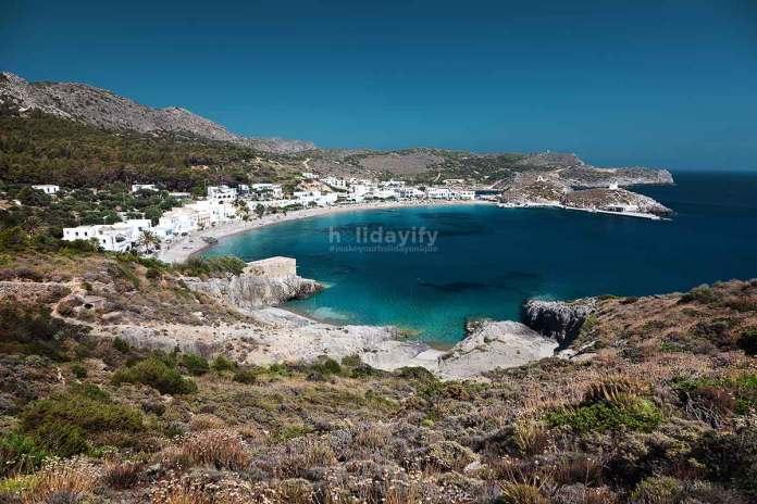 Kapsali Koyu, Kythira adası, Yunanistan