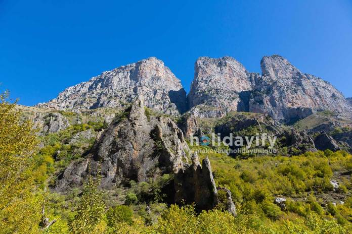 Pindus Dağları, Epir, Yunanistan