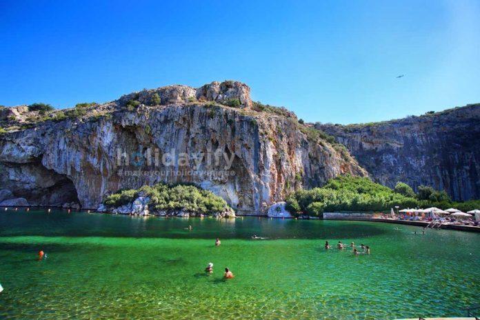 Vouliagmenis Gölü, Atina, Yunanistan