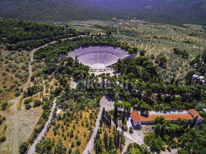 Ancient theater Epidaurus, Greece