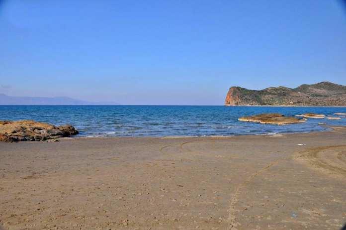 Chania Agia Marina Beach