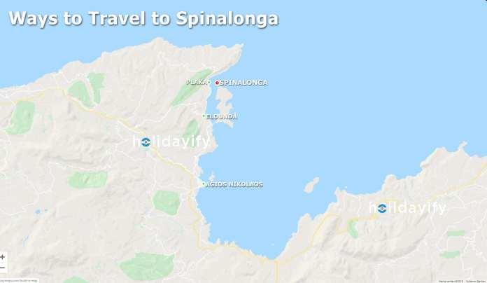 How do I get from Crete to spinalonga?
