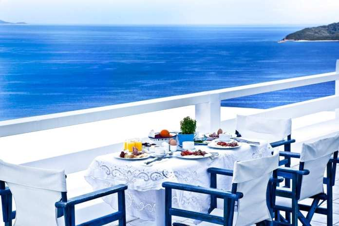 Greek Breakfast in Greece