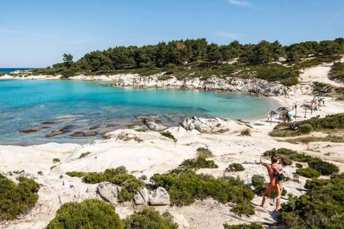 Halkidiki Vourvourou Beach