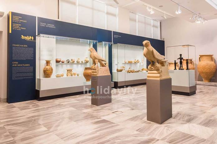 Heraklion Archaeological Museum at Crete, Greece