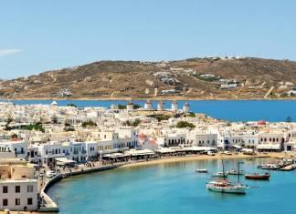 Mykonos Port, Mykonos Town