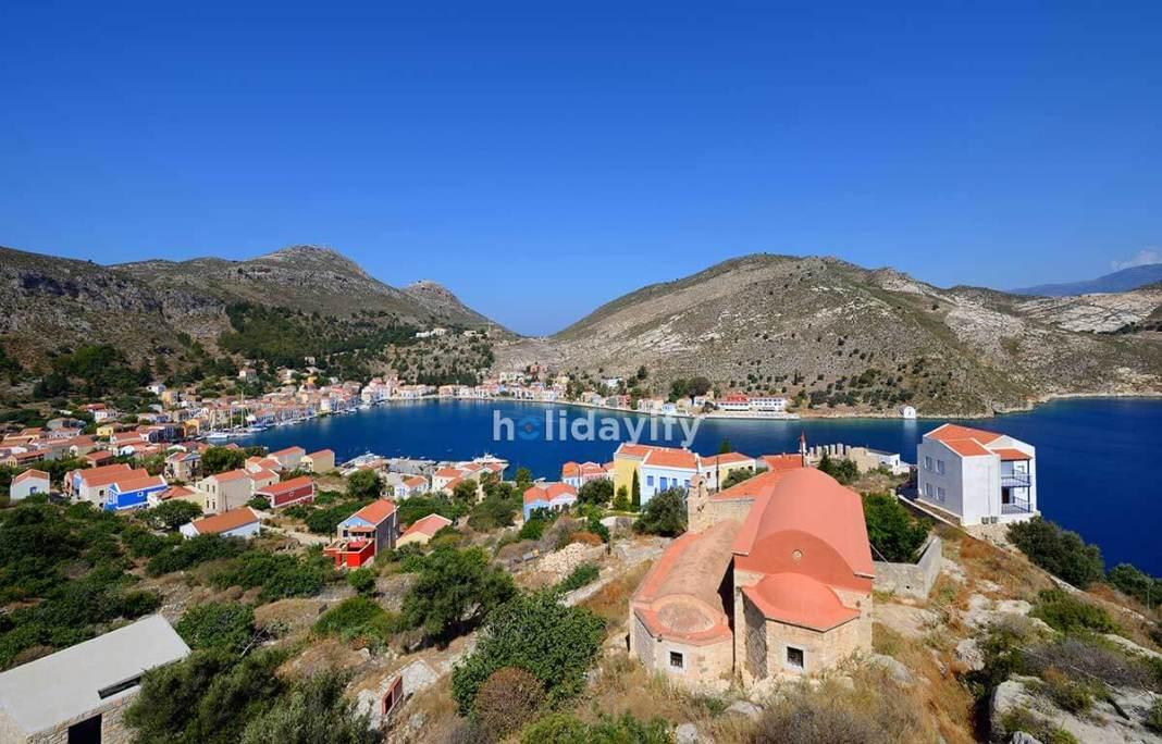 Panoramic view of Kastellorizo