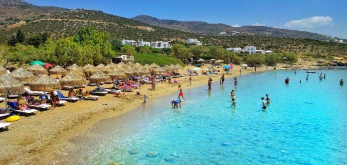 Faragas Beach, Paros