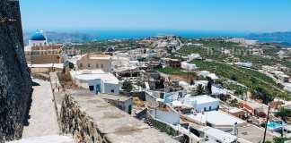 Santorini Pyrgos Village