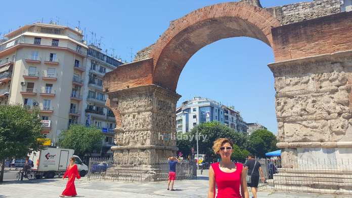 The Arch of Galerius Thessaloniki