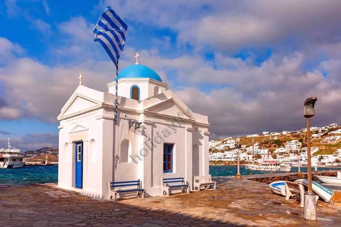 Agios Nikolakis Church, things to see in Mykonos