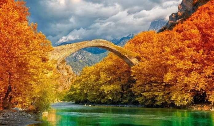 Konitsa Köprüsü, Yunanistan