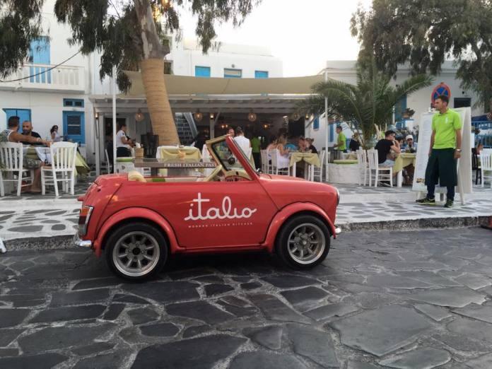 D'Angelo, Best Restaurants in Mykonos Town