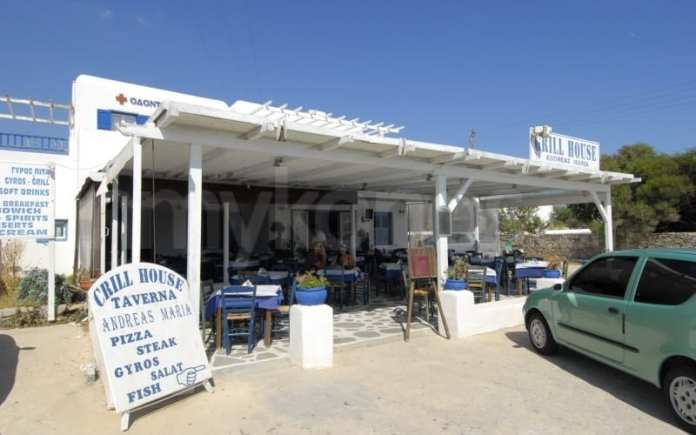 Andreas & Maria, Best Restaurants in Mykonos Town
