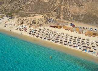 Elia Beach, Mykonos island
