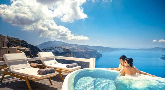 Aqua Luxury Suites, Santorini, Greece