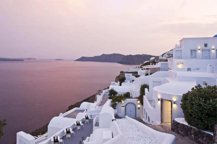 Canaves Oia Hotel, Santorini, Greece
