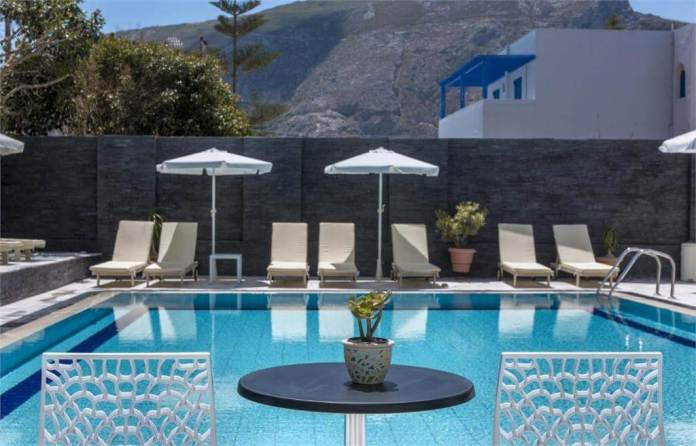 Santellini Hotel, Kamari, Santorini, Greece