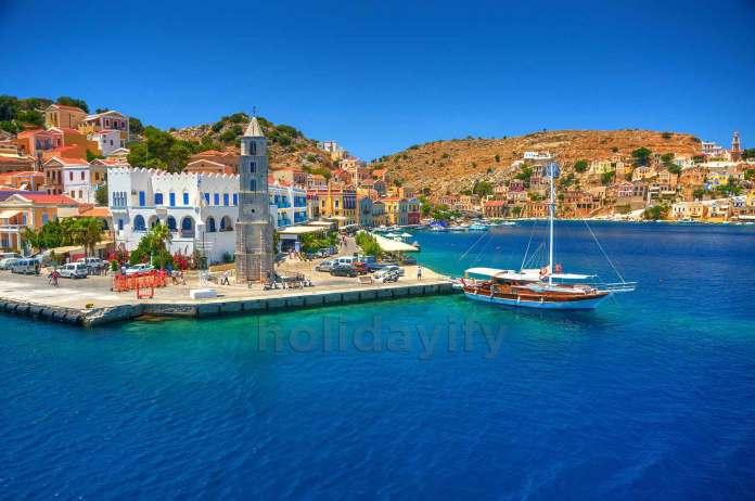 Symi island, Dodecanese, Greece