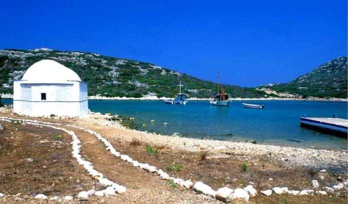 The island of Rho in Kastelorizo
