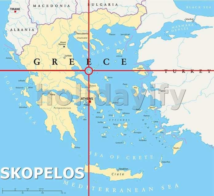 Where is Skopelos