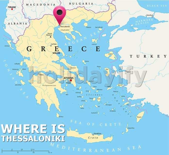 Where is Thessaloniki, Greece