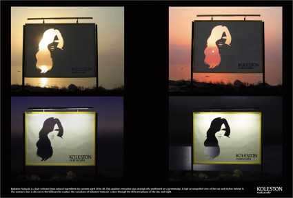 Creative Advertising 101 - Koleston Naturals