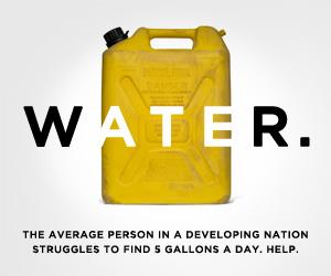 clean: water