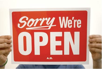 sorry open