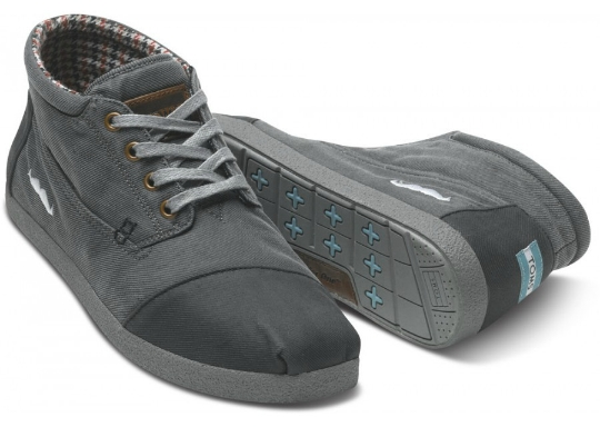 Sport a Mo on your Sneaks with Movember TOMS - Holiday Matinee