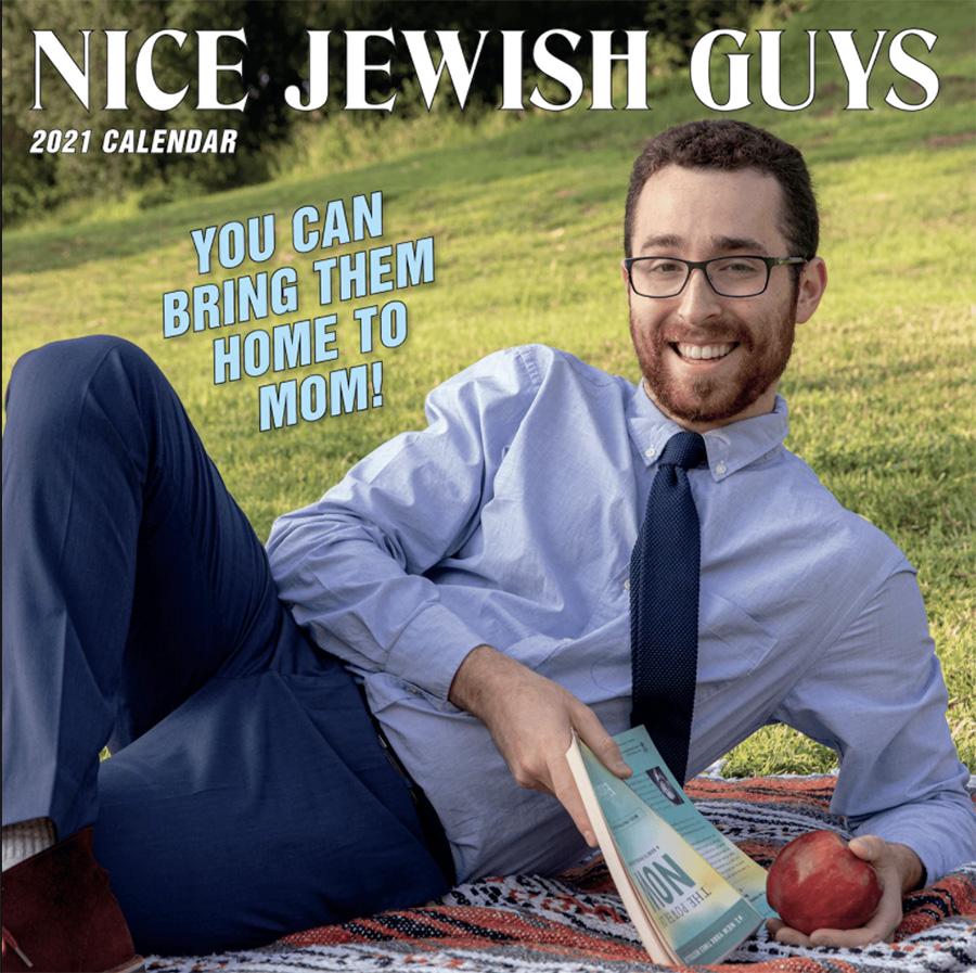 Nice Jewish Guys 2021 Calendar cover