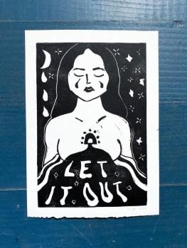 Let it out print