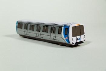 BART foam train