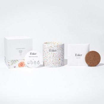 Plantable candle kit