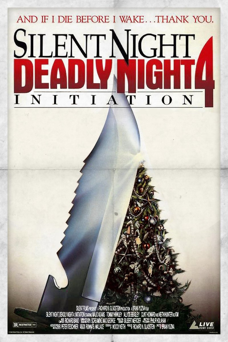 "Poster for the movie ""Initiation: Silent Night, Deadly Night 4"""
