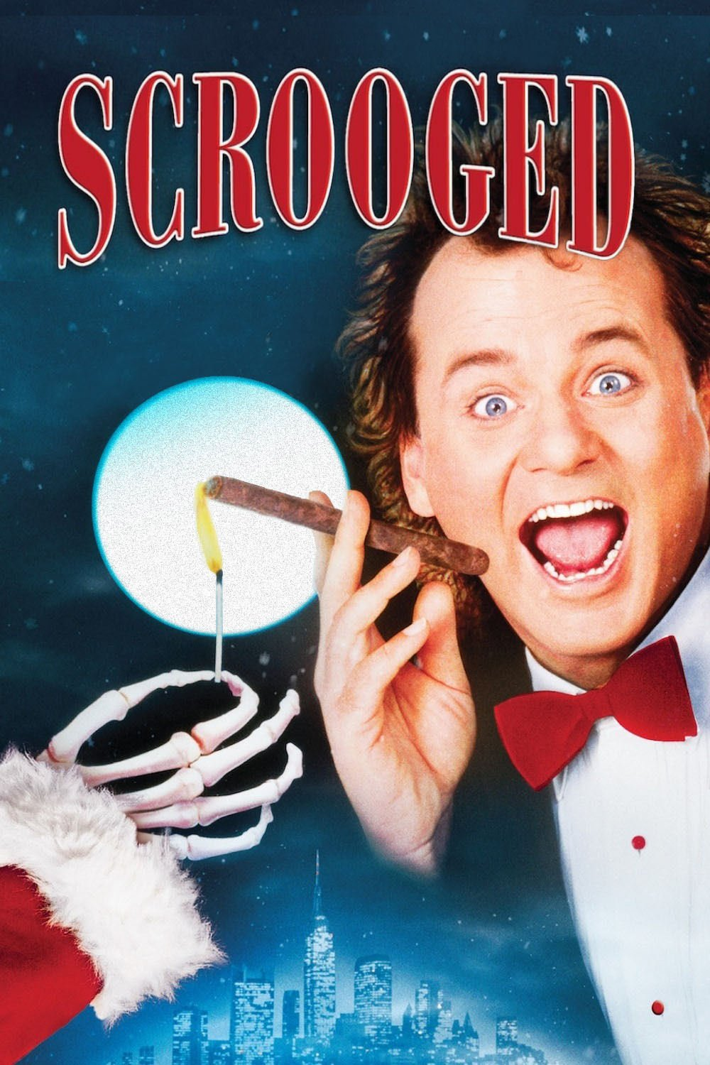 "Poster for the movie ""Scrooged"""