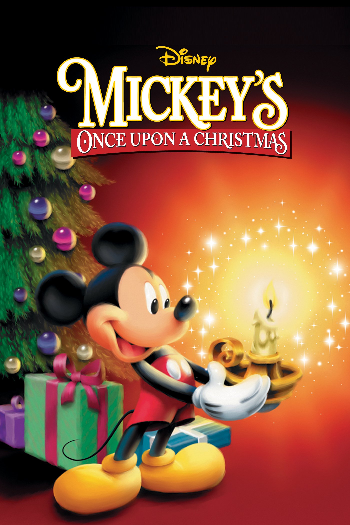 """Poster for the movie """"Mickey's Once Upon a Christmas"""""""